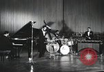 Image of Modern Jazz Quartet Germany, 1960, second 8 stock footage video 65675066558