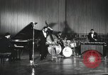 Image of Modern Jazz Quartet Germany, 1960, second 10 stock footage video 65675066558