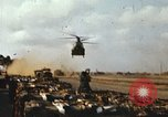 Image of CH-47 Chinook Vietnam, 1969, second 8 stock footage video 65675066567