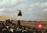 Image of CH-47 Chinook Vietnam, 1969, second 9 stock footage video 65675066567