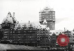 Image of Winston Churchill Quebec Canada, 1943, second 8 stock footage video 65675066600