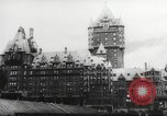 Image of Winston Churchill Quebec Canada, 1943, second 9 stock footage video 65675066600