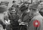Image of Congressional group at Camp Lucky Strike Saint Valery France, 1945, second 9 stock footage video 65675066602