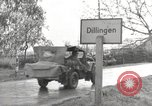 Image of German prisoners of war Dillingen Germany, 1945, second 4 stock footage video 65675066609