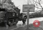 Image of German prisoners of war Dillingen Germany, 1945, second 11 stock footage video 65675066609