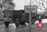Image of German prisoners of war Dillingen Germany, 1945, second 12 stock footage video 65675066609