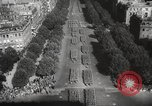 Image of liberation day parade Paris France, 1945, second 7 stock footage video 65675066614
