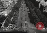 Image of liberation day parade Paris France, 1945, second 10 stock footage video 65675066614