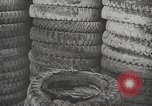 Image of tire remover United States USA, 1947, second 9 stock footage video 65675066620