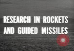 Image of rocket models New Mexico United States USA, 1947, second 4 stock footage video 65675066621