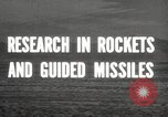 Image of rocket models New Mexico United States USA, 1947, second 5 stock footage video 65675066621