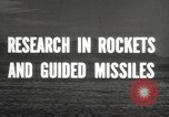 Image of rocket models New Mexico United States USA, 1947, second 6 stock footage video 65675066621