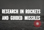 Image of rocket models New Mexico United States USA, 1947, second 7 stock footage video 65675066621