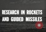 Image of rocket models New Mexico United States USA, 1947, second 9 stock footage video 65675066621