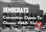 Image of Democratic convention Philadelphia Pennsylvania USA, 1948, second 2 stock footage video 65675066661