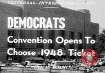 Image of Democratic convention Philadelphia Pennsylvania USA, 1948, second 3 stock footage video 65675066661
