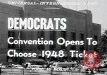 Image of Democratic convention of 1948 Philadelphia Pennsylvania USA, 1948, second 4 stock footage video 65675066661