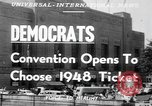 Image of Democratic convention Philadelphia Pennsylvania USA, 1948, second 6 stock footage video 65675066661