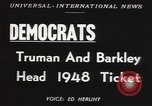 Image of Democratic convention Philadelphia Pennsylvania USA, 1948, second 5 stock footage video 65675066663