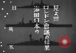 Image of Japanese identification silhouettes of U.S. warships Pacific Ocean, 1941, second 10 stock footage video 65675066681