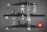 Image of Japanese identification silhouettes of U.S. warships Pacific Ocean, 1941, second 11 stock footage video 65675066681