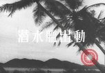 Image of Japanese submarine South Pacific Ocean, 1942, second 9 stock footage video 65675066684