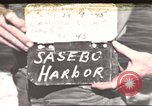Image of Japanese equipment Sasebo Japan, 1945, second 1 stock footage video 65675066706