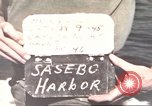 Image of Japanese equipment Sasebo Japan, 1945, second 2 stock footage video 65675066706