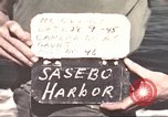 Image of Japanese equipment Sasebo Japan, 1945, second 3 stock footage video 65675066706