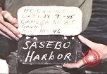 Image of Japanese equipment Sasebo Japan, 1945, second 4 stock footage video 65675066706