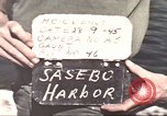 Image of Japanese equipment Sasebo Japan, 1945, second 5 stock footage video 65675066706