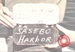 Image of Japanese equipment Sasebo Japan, 1945, second 7 stock footage video 65675066706