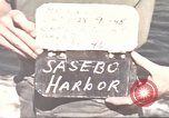 Image of Japanese equipment Sasebo Japan, 1945, second 8 stock footage video 65675066706