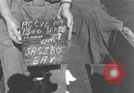 Image of USS Cape Gloucester Sasebo Japan, 1945, second 1 stock footage video 65675066712