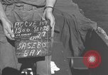 Image of USS Cape Gloucester Sasebo Japan, 1945, second 4 stock footage video 65675066712