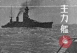 Image of Japanese Naval fleet maneuvers  Pacific Ocean, 1935, second 1 stock footage video 65675066723