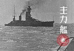 Image of Japanese Naval fleet maneuvers  Pacific Ocean, 1935, second 2 stock footage video 65675066723