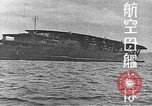 Image of Japanese Naval fleet maneuvers  Pacific Ocean, 1935, second 4 stock footage video 65675066723