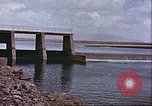 Image of Boghra diversion dam and canal in Afghanistan Afghanistan, 1952, second 2 stock footage video 65675066744