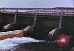 Image of Boghra diversion dam and canal in Afghanistan Afghanistan, 1952, second 6 stock footage video 65675066744