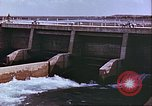 Image of Boghra diversion dam and canal in Afghanistan Afghanistan, 1952, second 7 stock footage video 65675066744