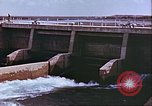 Image of Boghra diversion dam and canal in Afghanistan Afghanistan, 1952, second 8 stock footage video 65675066744