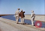 Image of Boghra diversion dam and canal in Afghanistan Afghanistan, 1952, second 9 stock footage video 65675066744