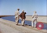 Image of Boghra diversion dam and canal in Afghanistan Afghanistan, 1952, second 12 stock footage video 65675066744