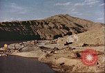 Image of construction of dam Afghanistan, 1982, second 2 stock footage video 65675066745