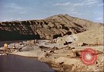 Image of construction of dam Afghanistan, 1982, second 3 stock footage video 65675066745