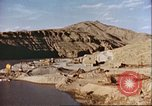 Image of construction of dam Afghanistan, 1982, second 4 stock footage video 65675066745