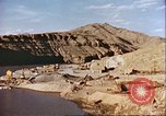 Image of construction of dam Afghanistan, 1982, second 5 stock footage video 65675066745