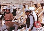 Image of construction of dam Afghanistan, 1982, second 11 stock footage video 65675066745