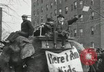 Image of parade United States USA, 1918, second 7 stock footage video 65675066755